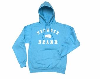 Browder Brand Aqua Blue Core Fleece Hoodie