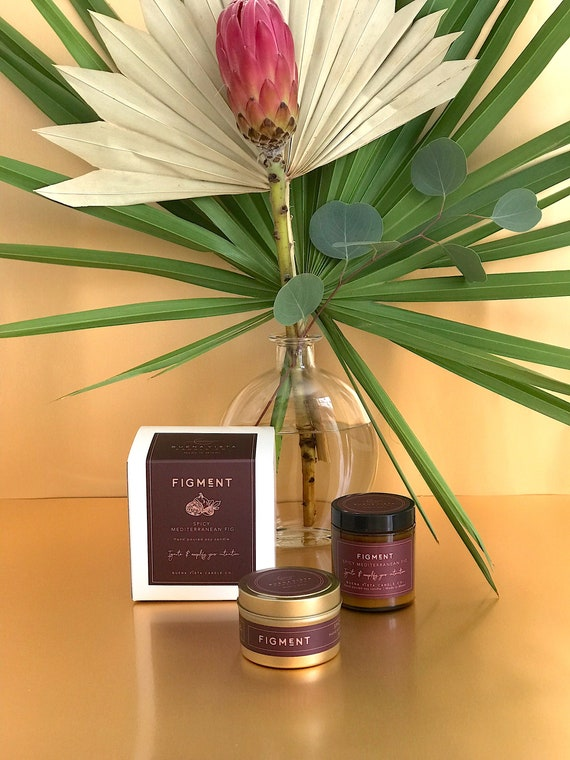 Figment (Spicy Mediterranean Fig) Soy Candle