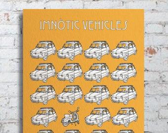 IMNÒTIC TRAFFIC JAM. Paper version.
