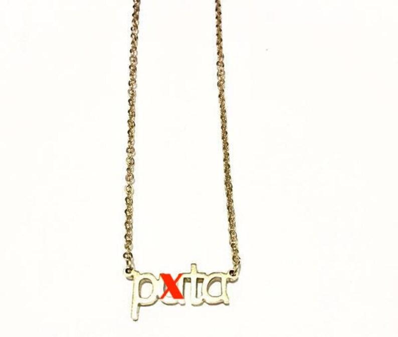 14K Gold 'Puta' Necklace image 0