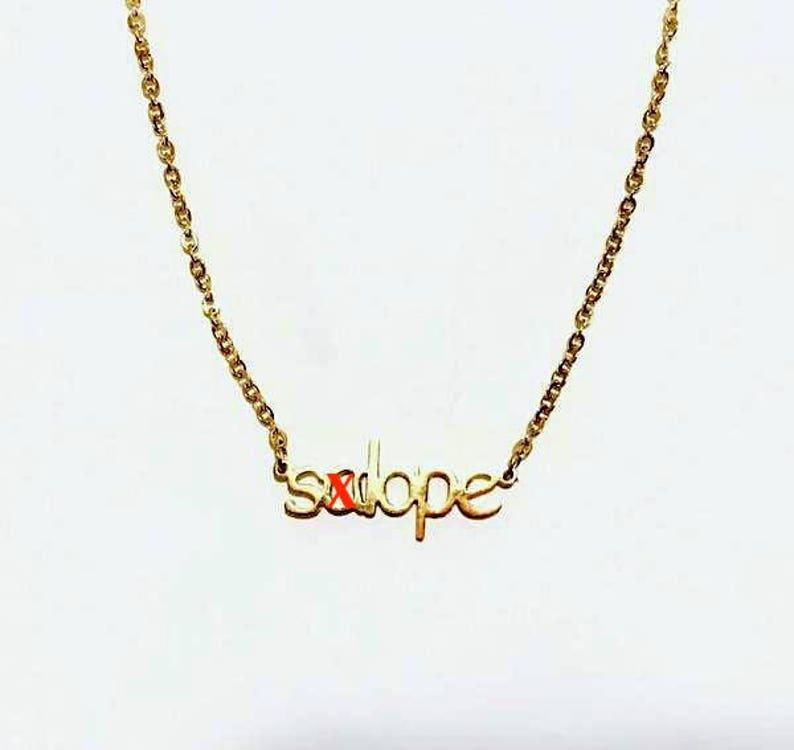 14K Gold 'salope' Necklace Regular price image 0
