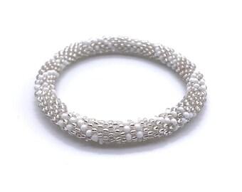 Beaded Bracelets, Nepal Handmade Bracelets, seed bead Crochet Bracelet, Czech glass bead bracelet, Nepal beaded Bracelet, glass bracelet