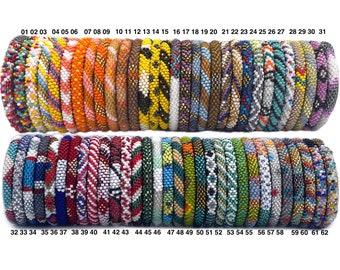 Beaded Bracelet, beaded bracelet for women, beaded bracelet men, Nepal Bead Bracelet, Crochet Bracelet, Bead Bracelet, Good Cause Bracelet