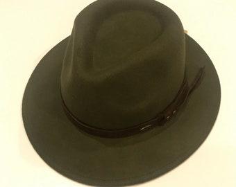 88d111c704e742 Fedora hat wool crushable wide brim best neat quality