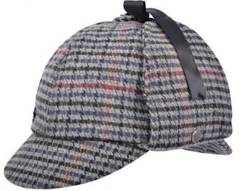 0acd72d06f2 Sherlock Holmes- Deerstalker hat tweed