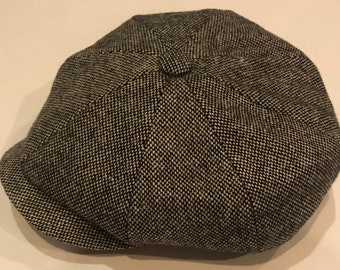 012fb55e8c1a Peaky blinder hat 8 panel style bakerboy type classic style wool newsboy cap  gatsby cap handmade