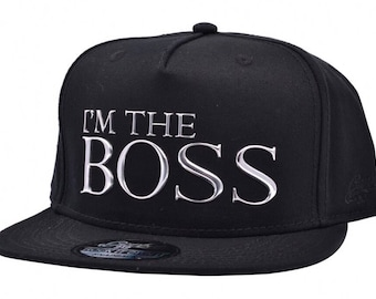 98ddc3fda4c Im the boss Snapback caps carbon 212 one size