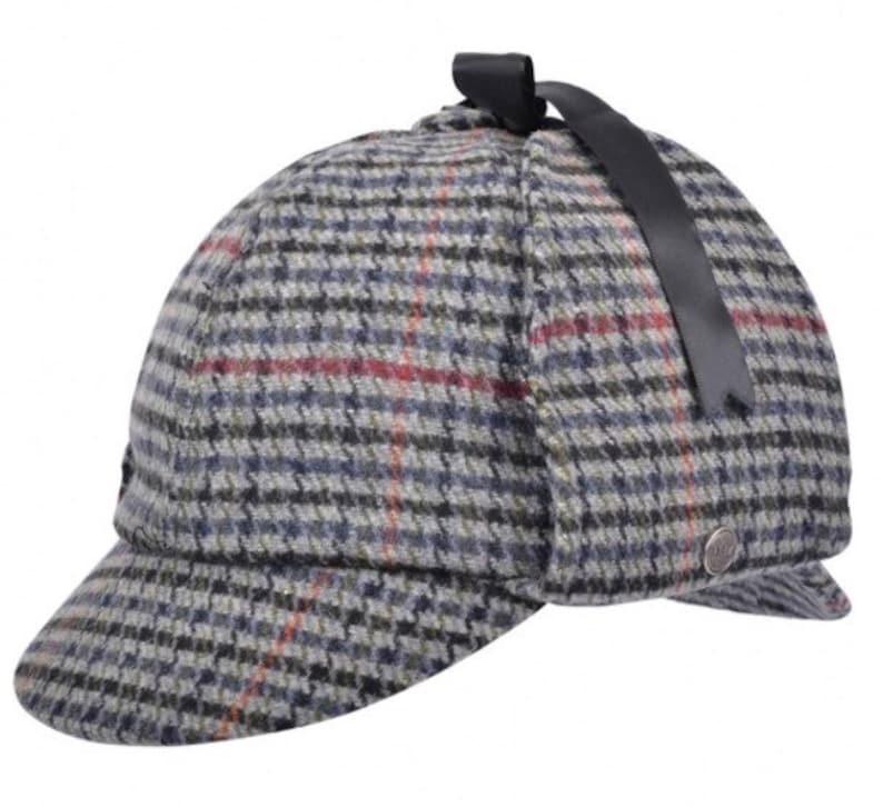b5af34318c7 Sherlock Holmes Deerstalker hat tweed