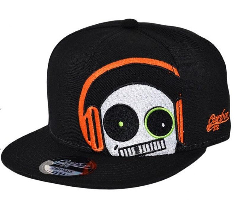 34738b34674 Headset baseball cap Snapback caps music cap and hip hop