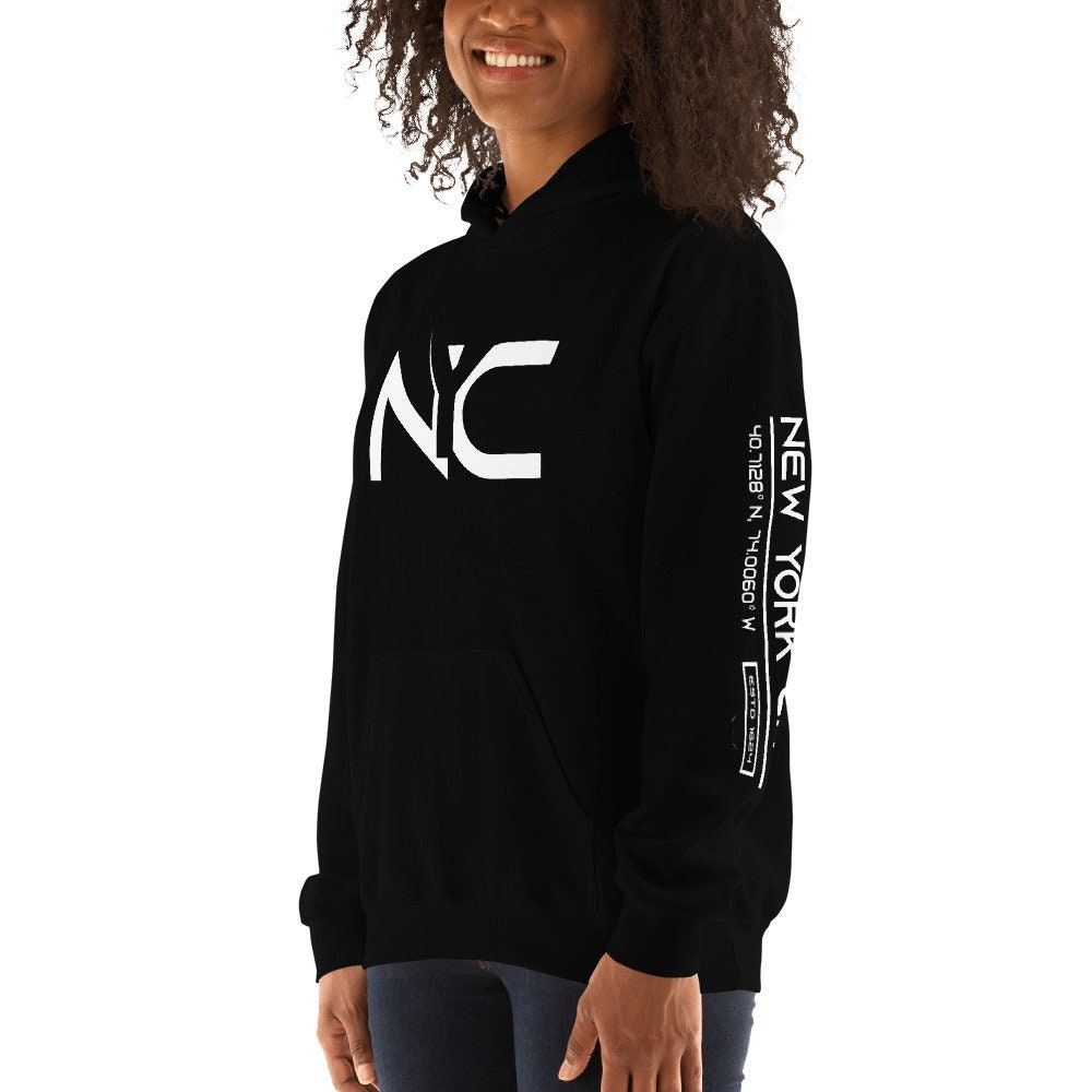 New York Hooded Sweatshirt, New York City sweat sweat City à capuche pour homme, New York sweat à capuche femme, sweat à capuche d09aa9