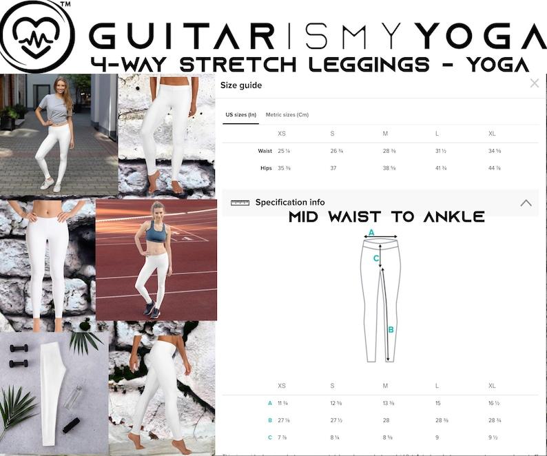 White Yoga Leggings for Women