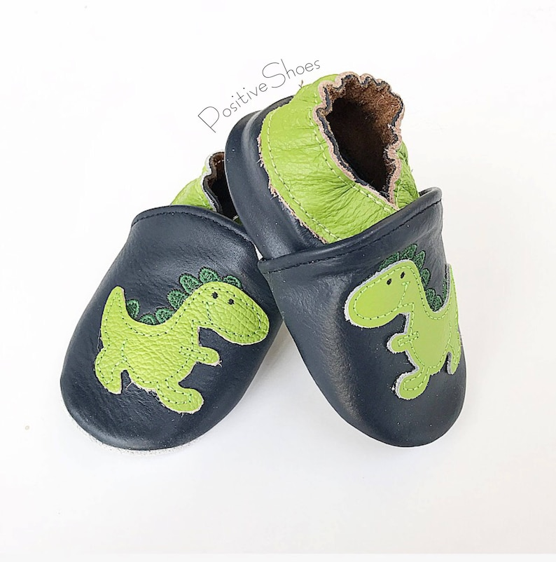 6fbbe09c1e9a7 Baby Soft Sole Shoes First Walker Infant shoes Soft moccasins Baby boys  dinosaur shoes