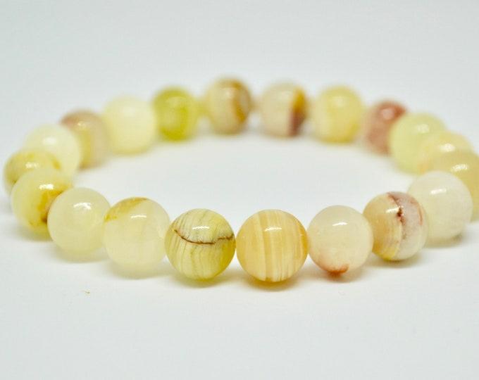Jade Bracelet, nephrite bracelet, Wrist Mala Bead, Chakra bracelet, healing crystals, reiki jewelry, chakra bracelet, dainty bracelet, gift