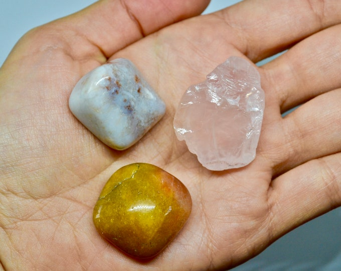 FERTILITY crystals, birthing crystals, labor crystals, new mom gifts, rose quartz, carnelian, pink opal, intention crystals, chakra stones