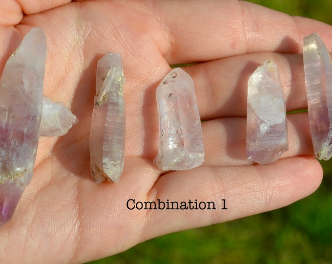 Set of 5, Amethyst quartz from Bulgaria, amethyst geode, raw amethyst quartz,  raw stone, healing crystal, mineral specimen, amethyst point