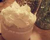 Handmade Organic Mango Cocoa Butter w Pure All-Natural Oils, Raw Honey Aloe Natural Hair Body Butter