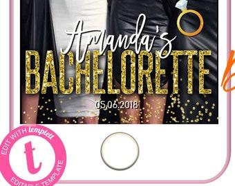Bachelorette Snapchat, Geofilter Bachelorette, Editable Snapchat Geofilter, Snapchat Filter, Bachelorette Geofilter, Geofilter,Snap Chat ,