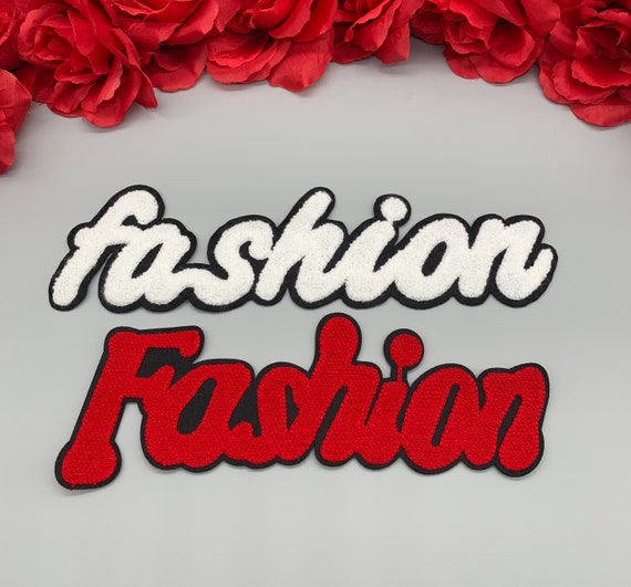 Patches for jackets Large patch Fashion patch Iron on 2pc//set