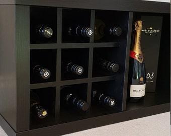 2 X Wine Rack Inserts For Ikea Kallax Expedit Storage Unit Etsy