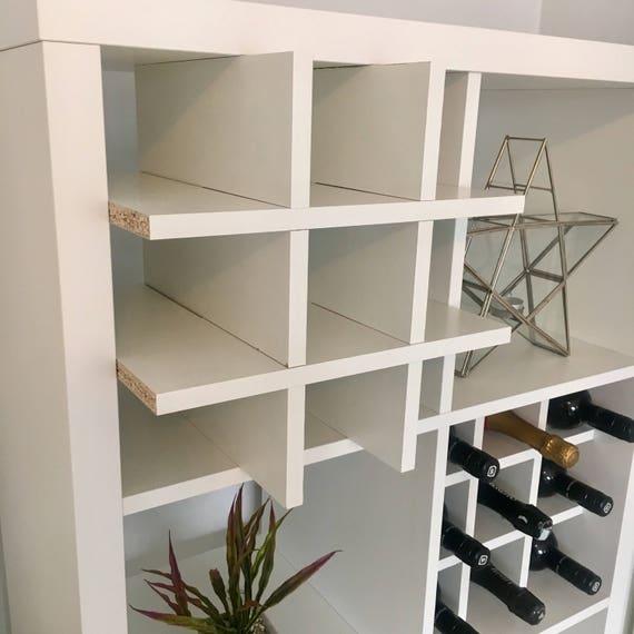 Wine Rack Insert For Ikea Kallax / Expedit Storage Unit Bottle   Etsy