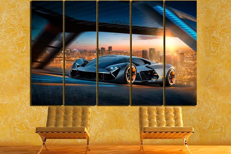 Lamborghini Terzo Millennio Lamborghini Canvas Concept Car Etsy