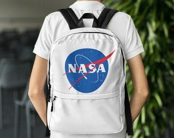 NASA Logo National Aeronautics and Space Administration Backpack b0ed099581