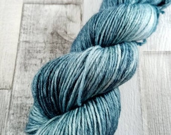 Hand dyed wool with merino and bamboo DK color 513