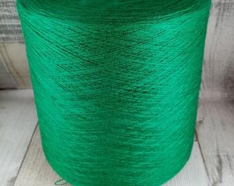 Bobbel Uni Absinth 4 fädig zum häkeln und stricken