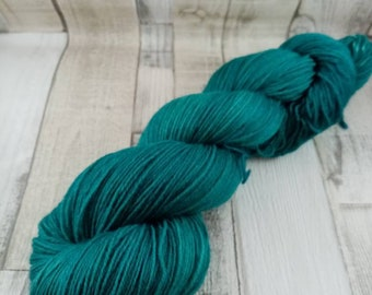 Hand dyed sock yarn in 100g strand for crochet and knitting color 004