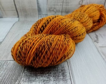 Hand dyed sock yarn in 100g strand colour 090