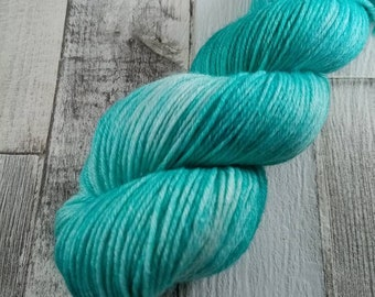 Hand dyed wool with merino and bamboo DK color 506