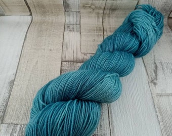 Hand dyed sock yarn in 100g strand for crochet and knitting color 019