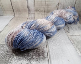 Hand dyed sock yarn for crochet and knitting color 047