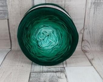 Bobbel Farbverlaufagarn 4 fädig zum häkeln und stricken