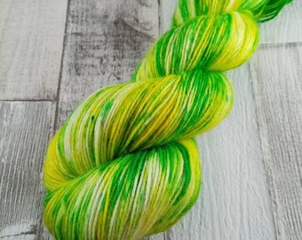 Hand dyed sock yarn in 100g strand colour 081