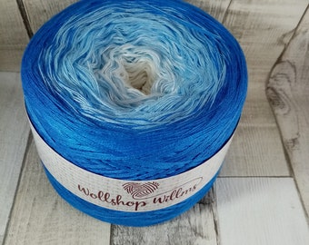 Bobbel, gradient yarn for crochet and knitting