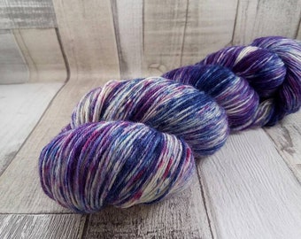 Hand dyed sock yarn in 100g strand for crochet and knitting color 059