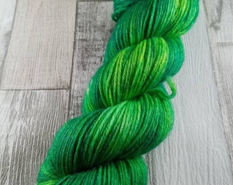 Hand dyed wool with merino and bamboo DK color 515