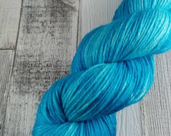 Hand dyed wool with merino and bamboo DK color 519