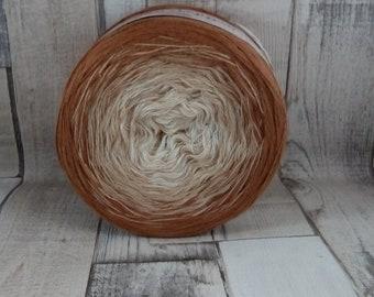 Bobbel, Farbverlaufsgarn zum häkeln und stricken 3 fädig