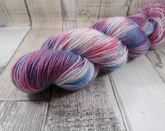 Hand dyed sock yarn for crochet and knitting color 043