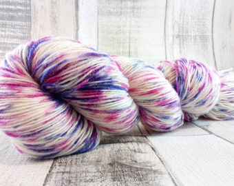 100g strand hand dyed sock yarn color 310 for crochet and knitting