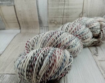 Hand dyed sock yarn in 100g strand colour 092