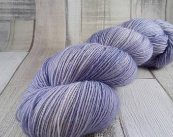 Hand dyed sock yarn in 100g strand color 052