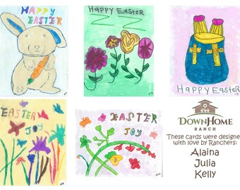 Holiday Greeting Cards - 10 pack of cards and envelopes - Easter, Christmas, Valentines