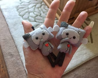 """Little Love Bot Plushie """"Who would you give your heart to? """""""