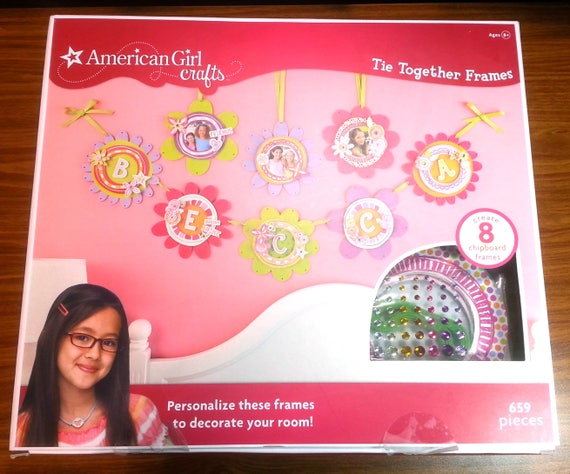 American Girl Crafts Tie Together Frames Kit Gift Diy