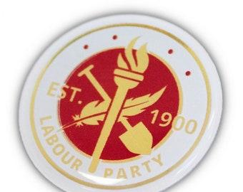 Labour Party established 1900 pin badge