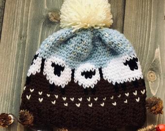 d43d21d7b54 Crochet sheep hat