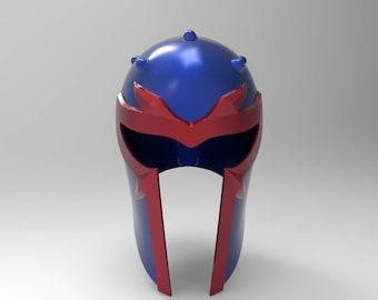 Magneto Uncanny Avengers Helmet for 3D Printing